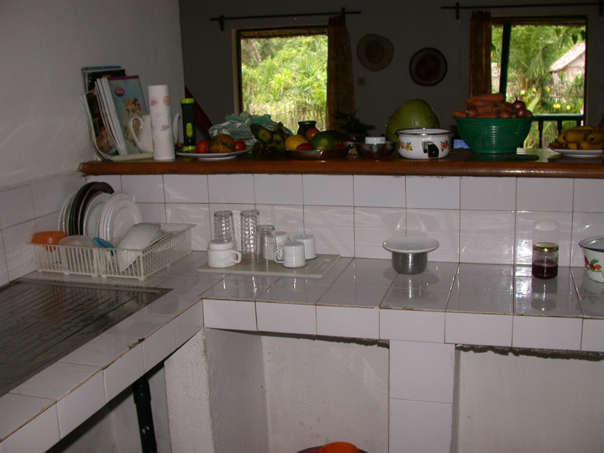 la cuisine de la maison