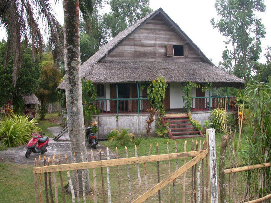 La maison depuis la RN5