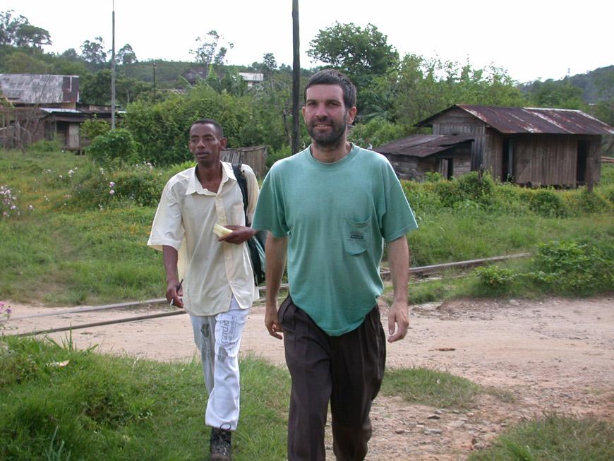 Rainer Dolch et Alain à Andasibe