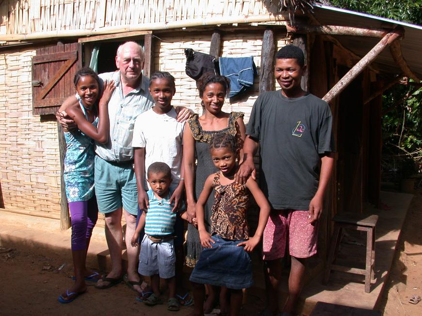 La famille de Raymond à Sahamalany