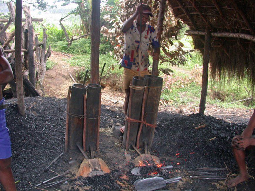 La forge d'Ambatovaky