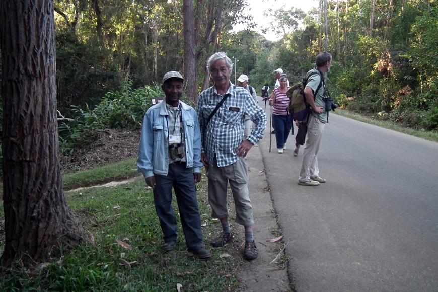 Michel et Christin à Andasibe