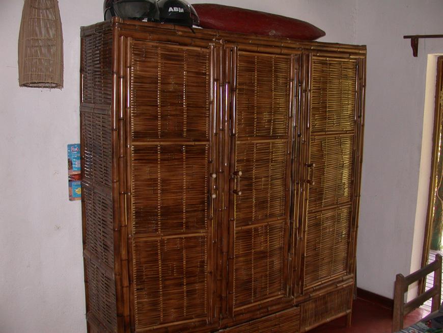 La nouvelle armoire en bambou