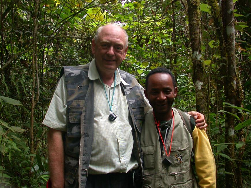 Christin et Paul en forêt