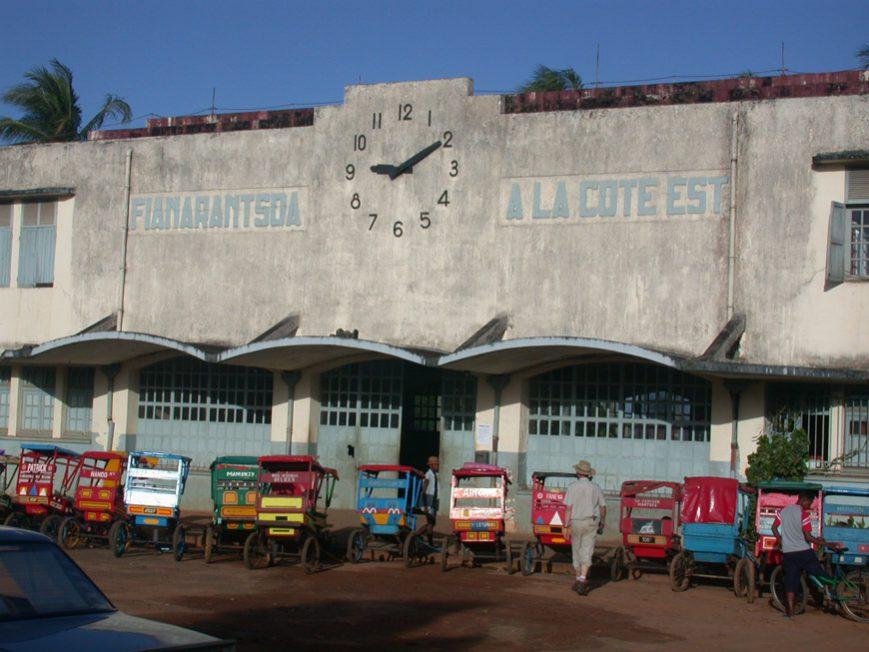 La gare de Manakara