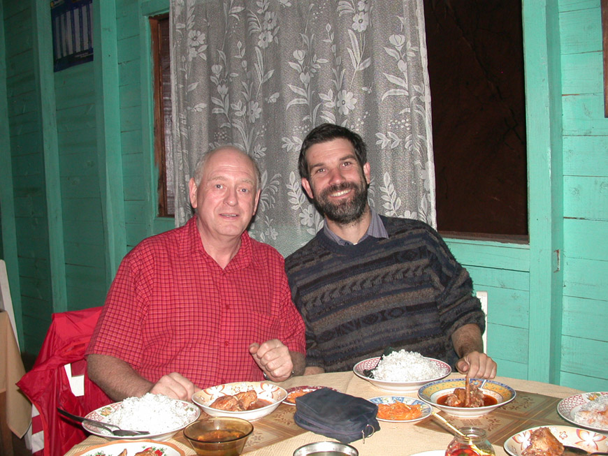 Rainer et Paul au Sitraka