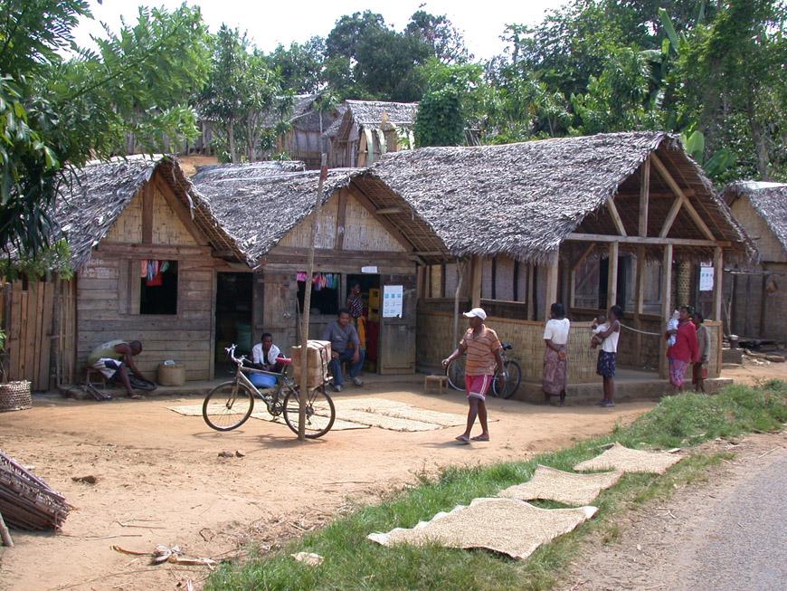 Le hameau de Sahamalany