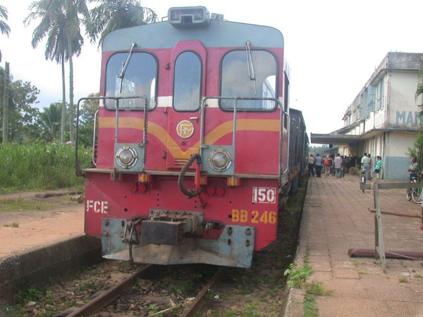 Le train à Manakara