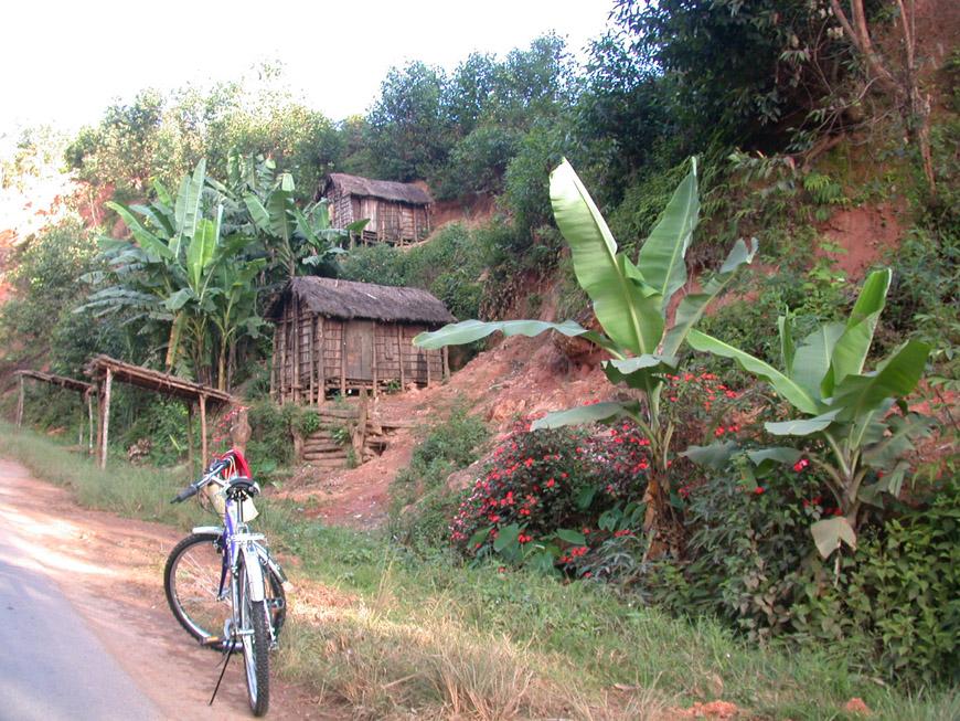 Balade en vélo vers Tamatave