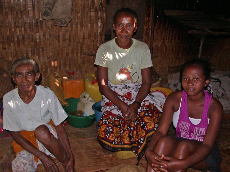 Christel et sa famille