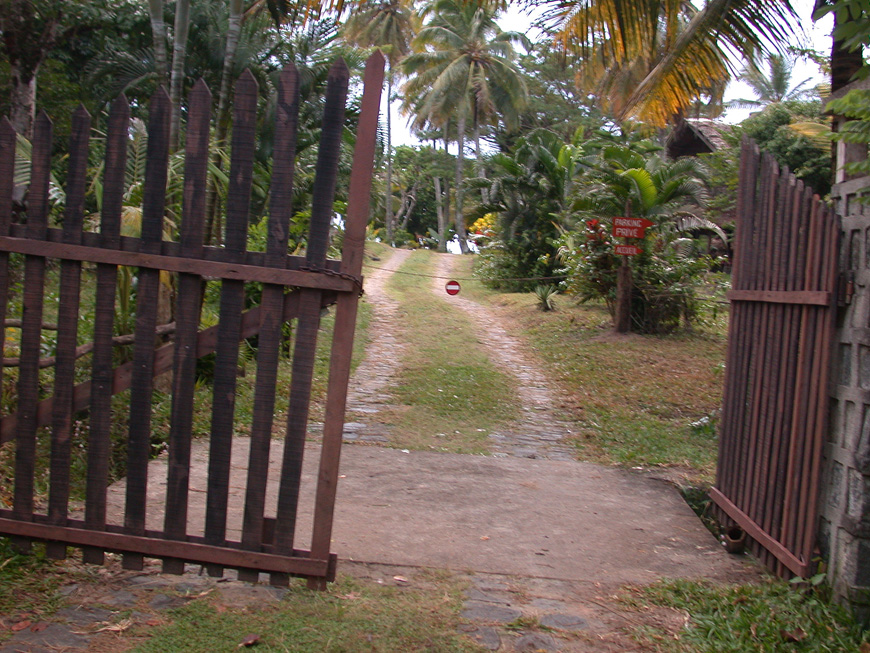 L'entrée d'Hibiscus