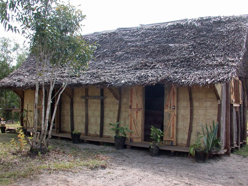 La maison du gardien à Mitsinjo