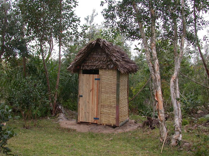 Le WC de Mitsinjo