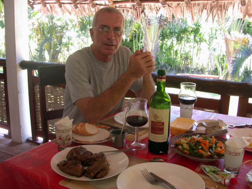 repas avec Gérard