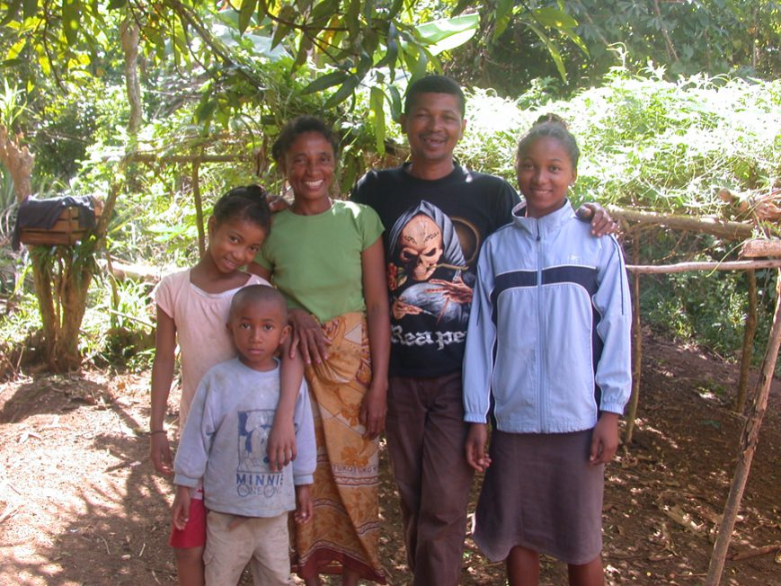 au hameau de Sahamalany