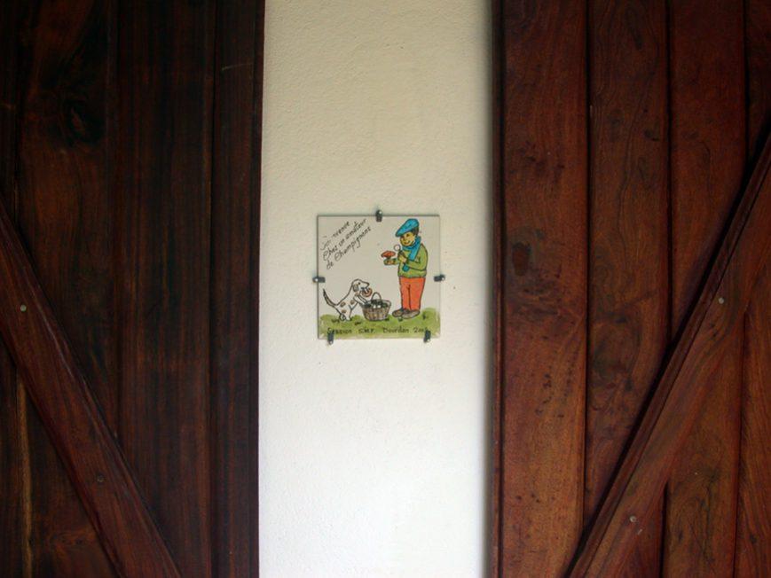 plaque champignon