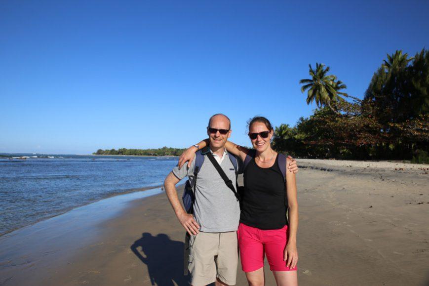 La plage de Mahambo