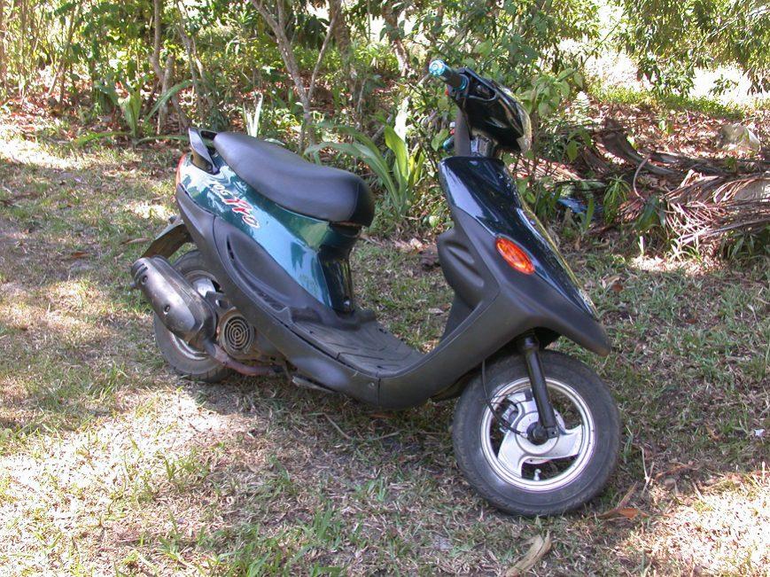 Le nouveau scooter