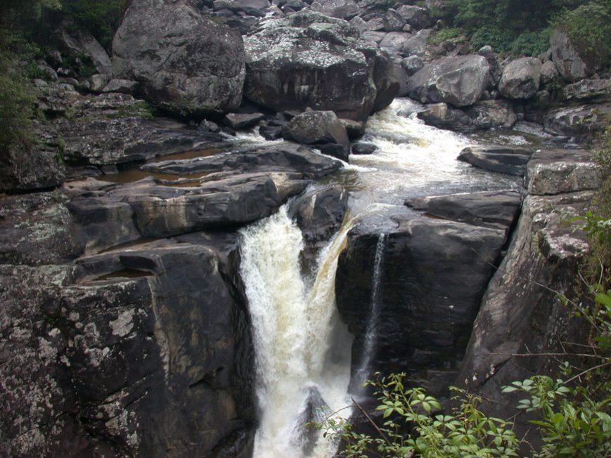 Une cascade à Ranomafana