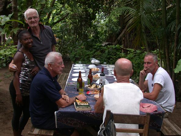 repas chez D. Bos