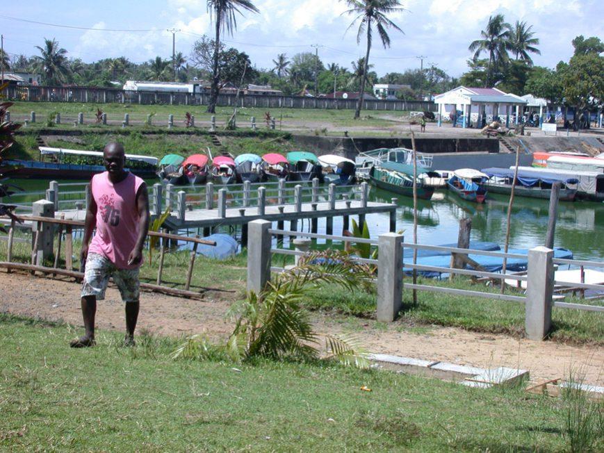 Le port fluvial de Tamatave
