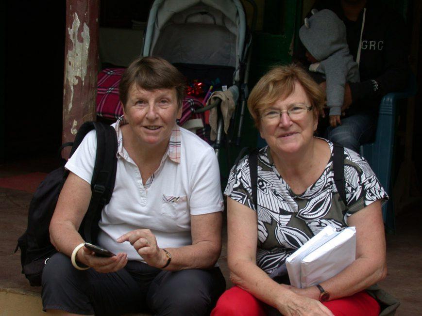 Christiane et Armelle à Tana
