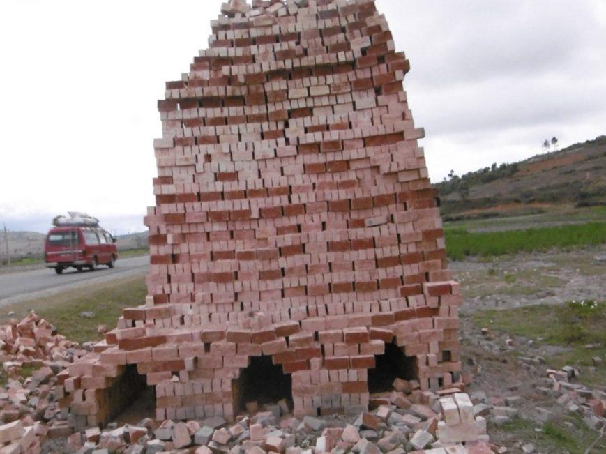 Four à briques près de Fiana