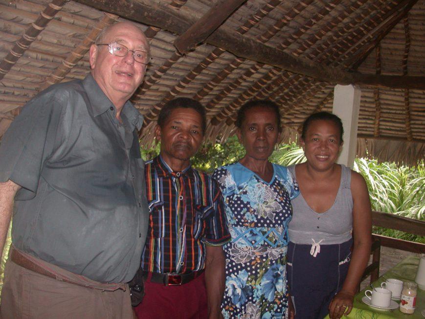 Les parents des 4 soeurs