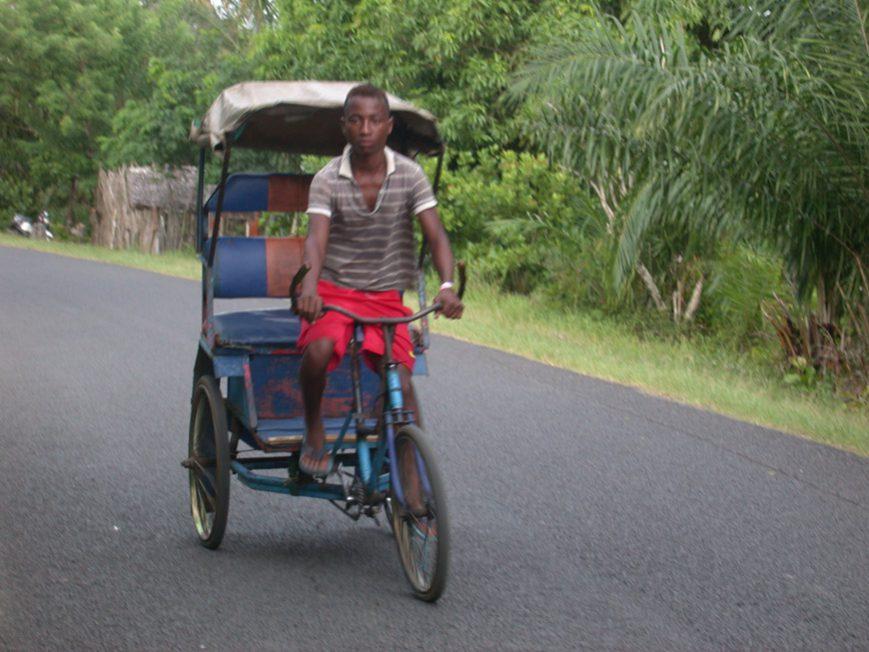 Vélo-pousse