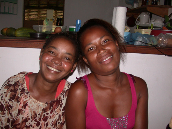 Les deux amies: Zoe et Vavrina